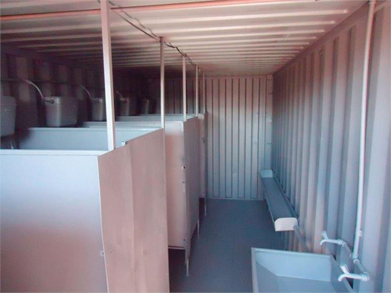 Container chuveiro