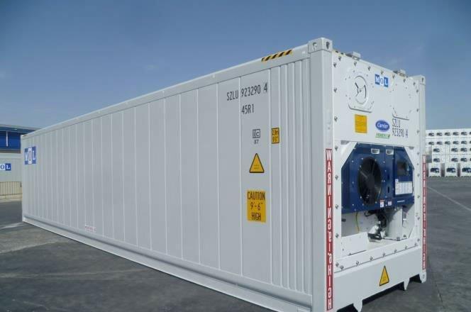 Container reefer preço