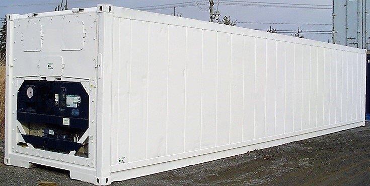 Containers marítimos refrigerados
