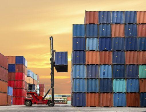 Guia intermediária para container