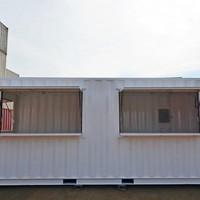 Stand para vendas container